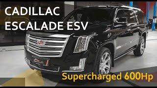 Стильный и мощный: Cadillac Escalade ESV Supercharged 600Hp от MORENDI