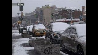 ১৮ ইঞ্চি তুষার পাত নিউইয়র্কে ! | New York News | Somoy Tv Video