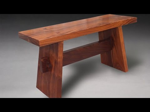 Building A Japanese Inspired Contemplation Bench - Woodworking