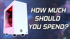 How Much Should You Spend On A Gaming PC? (GPU VS CPU)