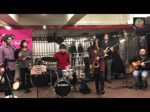 Instrumental Jazz Mix Music | Slum Suit | Live at 34th Street NYC | uTubeCTG