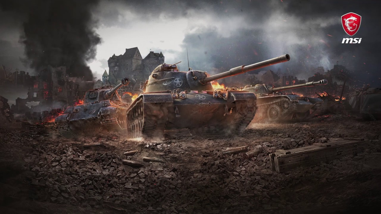 勝利への鍵を手に入れろ!GP62M World of Tanks 限定モデル!(GP62M 7REX-2000JP)