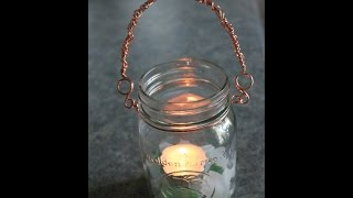 A New Twist on Mason Jar Lanterns