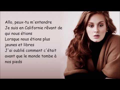 Adèle - Hello (Paroles françaises)