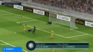 1-0 Milinkovic Savic Inter Barcellona Champions League