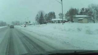 driving to dassel mn - saw snowmobiles Thumbnail