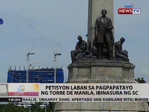 BT: Petisyon laban sa pagpapatayo ng Torre de Manila, ibinasura ng SC
