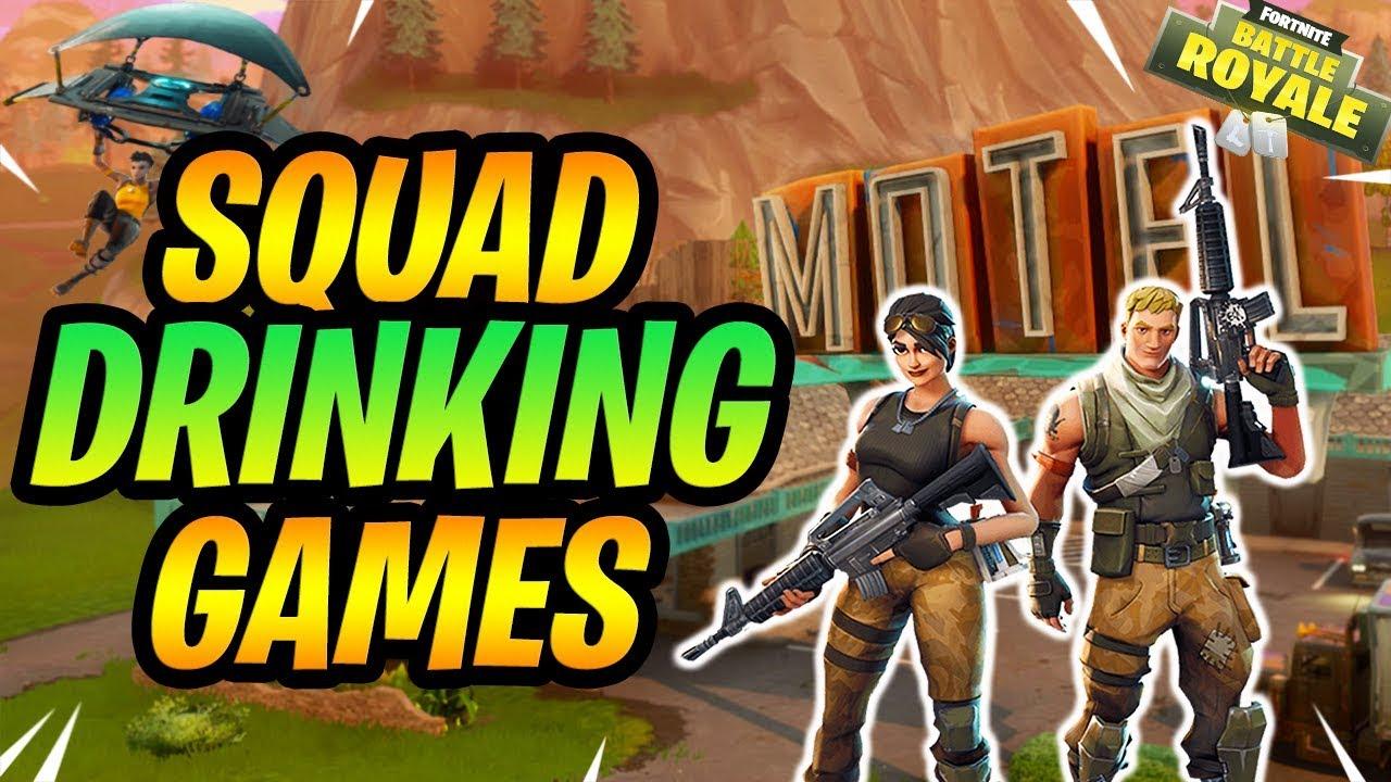 Fortnite Drinking Games Battle Royale Squads Full Gameplay