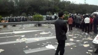 汕头海门民众抗议当局 公安镇压