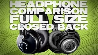 Audio-Technica ATH-M50x Headphone Review vs AKG K271mkII Comparison