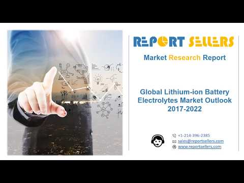 Global Lithium ion Battery Electrolytes Market Research Report | Report Sellers