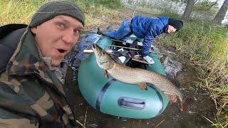 ААААА.... Вот это КОНЯ я поймал на рыбалке! Такая щука и рыбалка нам НУЖНА!