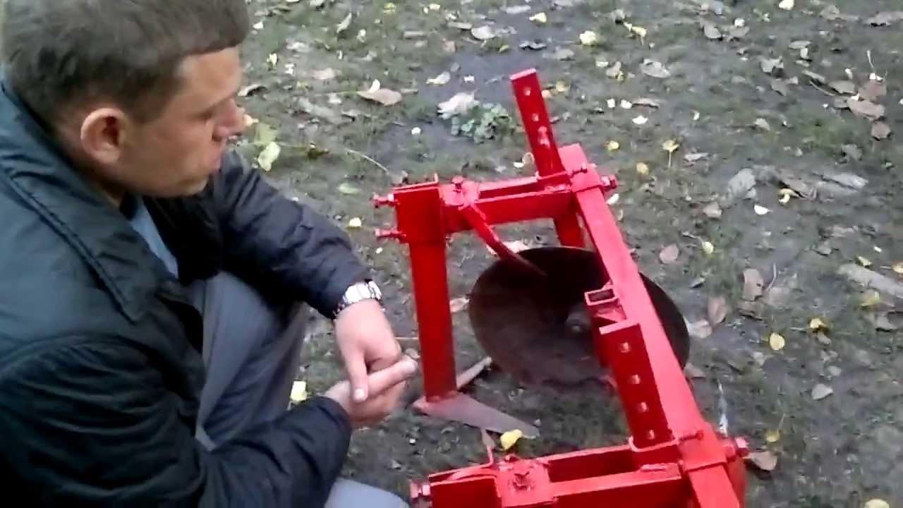 Окучиватель для мотоблока своими руками видео фото 997