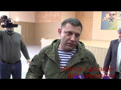 (ENG Subs) DPR head addresses Ukraine's block on coal from LPR & DPR