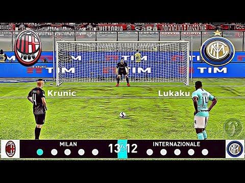 Milan 🆅🆂 Inter | Calci di Rigore | Nuovi Acquisti | PES 2020/19 Patch (Giù)