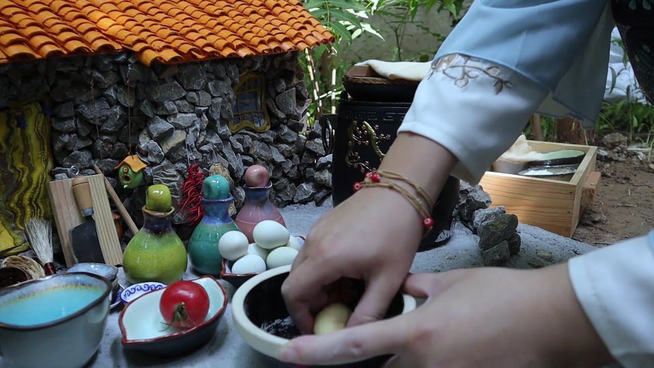 Mini food 可食用的迷你鸡蛋面Edible mini egg noodles