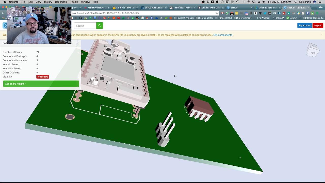 3D Printed Electronics Enclosure: EagleCAD to Fusion 360