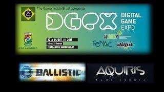 Aquiris Game Studio apresenta: Ballistic - Digital Game Expo - DGEX 2013