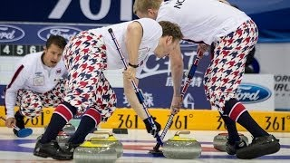 CURLING: NOR-SWE World Men