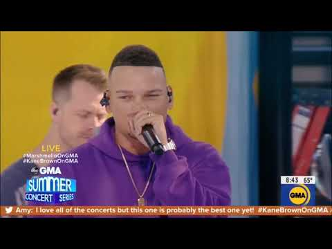 "Download Lagu  Kane Brown & Marshmello Performance ""One Thing Right"" Live Concert August 30, 2019 HD 1080p Mp3 Free"