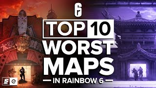 The Top 10 Worst Maps in Rainbow Six Siege