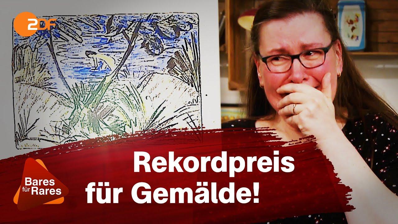 Download Teuerstes Bild aller Zeiten: Freudentränen nach Rekord-Expertise   Bares für Rares