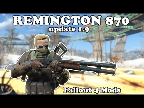 Fallout 4 Mods - Remington 870