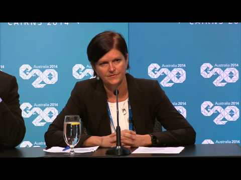C20 Press Conference at G20 Finance Ministers Meeting in Cairns
