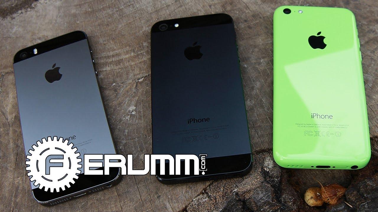 фото айфон 5 и 5 s отличия