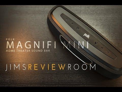 Polk MagniFi Mini FOOT LONG SOUNDBAR! - REVIEW