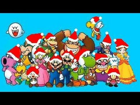 Day 1: 12 Days til Christmas: The Twelve Pains Of Christmas Super Mario Edition