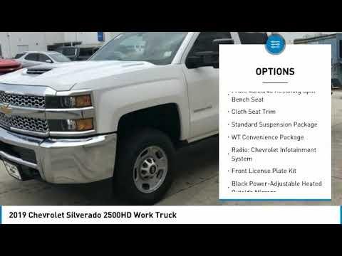 2019 Chevrolet Silverado 2500HD 2019 Chevrolet Silverado 2500HD Work Truck FOR SALE in Cullman, AL 1