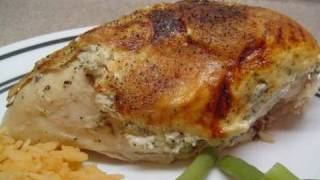 Roasted Chicken With Herbs And Cream Cheese