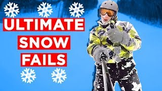 """WINTER """"BREAKS""""!! - Viral Winter Fails From IG, FB, Snapchat And More!! 