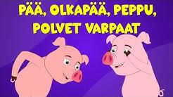 Suomen lastenlauluja | Pää, olkapää, peppu, polvet varpaat - Jumppalaulu