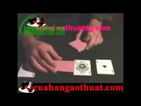 Hướng dẫn ảo thuật cách xếp bài và đánh bài bịp cực kì đơn giản và dễ học nhất 2014