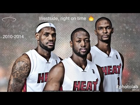 "Miami Heat 2010-2014 Mix - ""Westside,right On Time"" (Kendrick Lamar)"