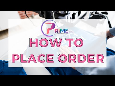 How to Place Order for Flyers