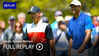 Full Replay | Tiger Woods, Brooks Koepka, Francesco Molinari in 1st Round at 2019 PGA Championship