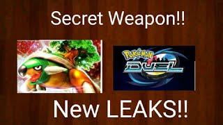NEW LEAKS!! A SECRET WEAPON FOR GRASS DECKS?? POKEMON DUEL EP 494