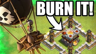 BURN IT TO THE GROUND!!! - Clash Of Clans - EPIC 3 STAR ATTACK STRATEGY!