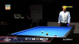 #14 - Frank TORRES vs Camilo MEDINA / 2018 USBA 3 Cushion National Championship