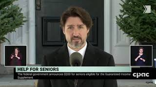 Seniors will receive $300 for old age security; additional $200 for guaranteed income benefits