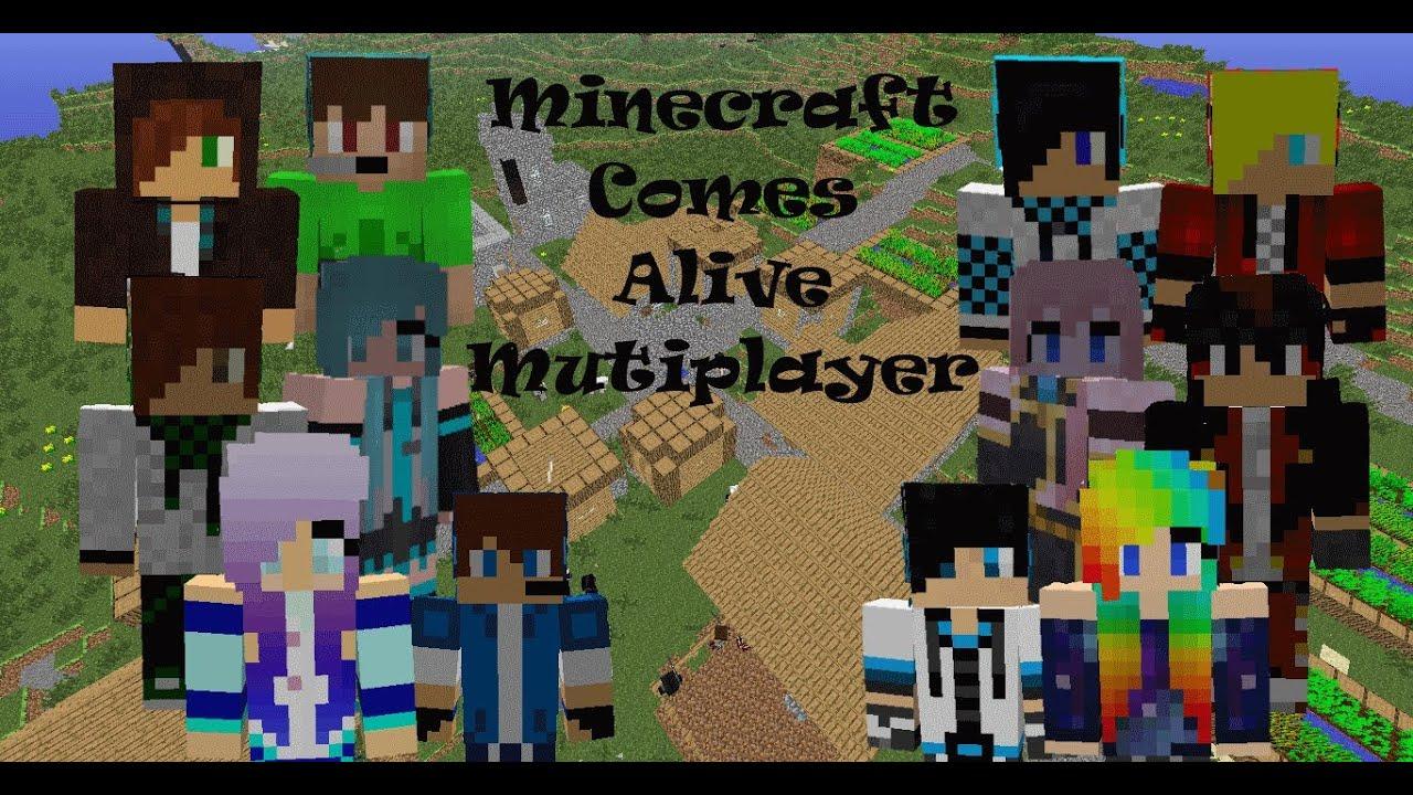 minecraft comes alive skin pack