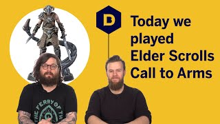 Today we Played Elder Scrolls: Call to Arms