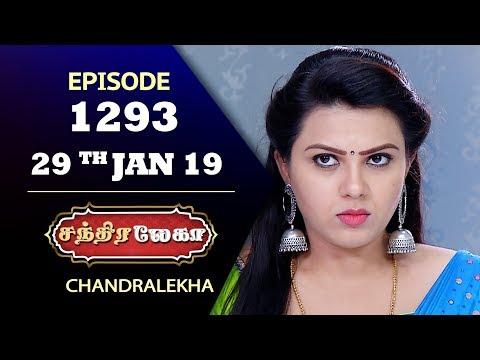 CHANDRALEKHA Serial | Episode 1293 | 29th Jan 2019 | Shwetha | Dhanush | Saregama TVShows Tamil