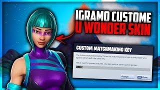 🔴IGRAMO CUSTOME U WONDER SKIN w/Cro Men- USE CODE LOMEX - GW U OPISU !gw - FORTNITE BALKAN LIVE🔴