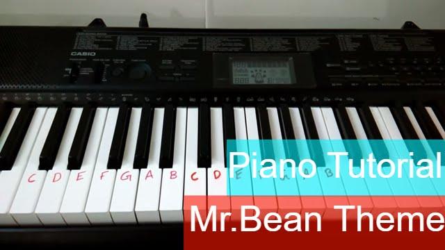 mr bean tv series theme song