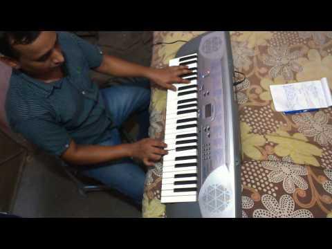 Chitthi aayi hai pankaj udhas on piano by Vijay Kumar