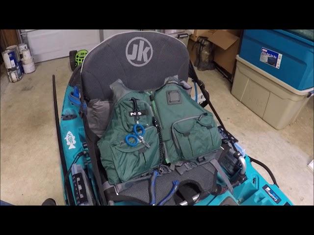 Jackson Kayak Coosa HD Rigging and Setup